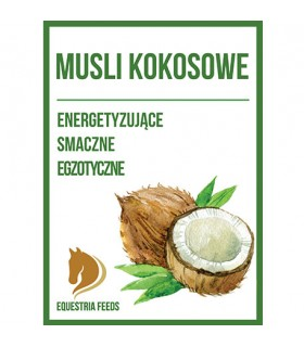 EQUESTRIA FEEDS Musli kokosowe