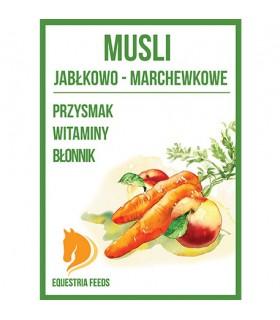 EQUESTRIA FEEDS Musli jabłkowo-marchewkowe
